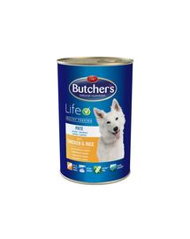 BUTCHER'S Life pate cu pui și orez 1200 g