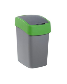 "CURVER Coș de gunoi ""FLIP BIN"" 25 L argintiu/zelená"