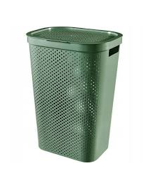 CURVER Coș haine Infinity reciclat 60 L verde