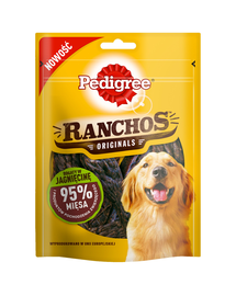 PEDIGREE Ranchos Originale cu miel 7*70 g