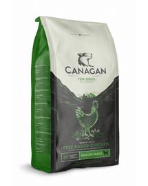 CANAGAN Dog Free-Range Hrană uscată cu pui ecologic 2 kg