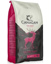 CANAGAN Dog Country Game Hrană uscată cu carne de vânat 12 kg