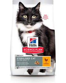 HILL'S Science Plan Feline Mature(7+) Adult Sterilised cu pui 3 kg