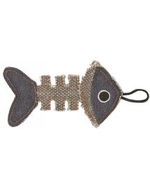 BARRY KING Jucărie Schelet de pește gri / bleumarin 14 x 7,5 cm