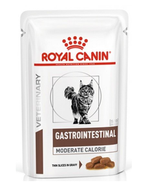 ROYAL CANIN Cat Gastro Intestinal Moderate Calorie 12 x 85 g