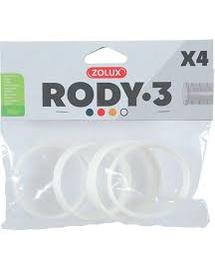 ZOLUX Conector RODY3, 4 buc, alb