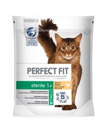 PERFECT FIT (Sterile 1+) Hrană uscată bogată în carne de vită pentru pisici sterilizate 4,5 kg