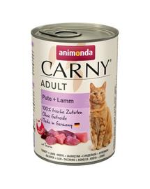 ANIMONDA Carny Adult curcan și miel 400 gr