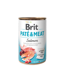 BRIT Pate & Meat Salmon 400g