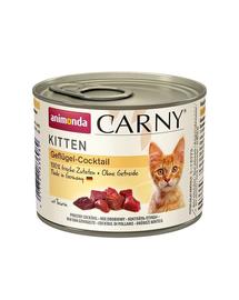 ANIMONDA Carny Kitten cocktail de carne 200 gr