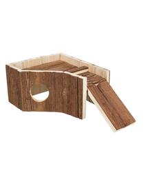 TRIXIE Casă pentru rozătoare, lemn, 30 × 14 × 26 cm