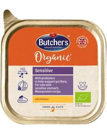 BUTCHER'S Organic Sensitive Monoproteină cu pui 85 g