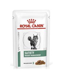 ROYAL CANIN Cat Satiety Feline plic 12 x 85 g