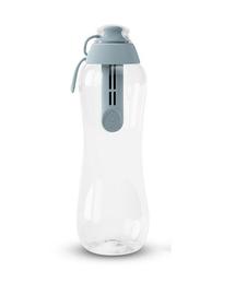 DAFI Sticlă cu filtru 0,5 L, gri-oțel
