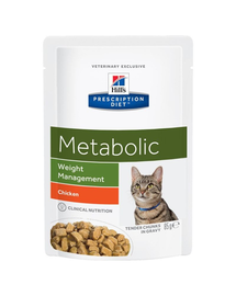HILL'S Prescription Diet Feline Metabolic 85 g