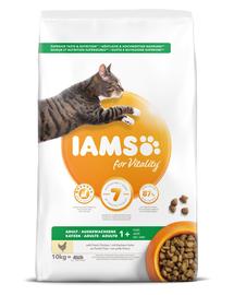 IAMS pentru pisici adulte cu conținut redus de grăsimi, cu pui 10 kg