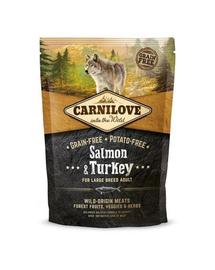 CARNILOVE Adult Large Breed somon și curcan 1,5 kg