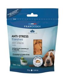 FRANCODEX Recompense pentru câini anti-stres cu pui 75 gr