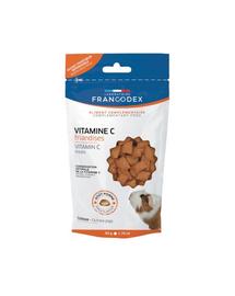 FRANCODEX Recompense cu vitamina C pentru porcușori de Guineea 50 gr