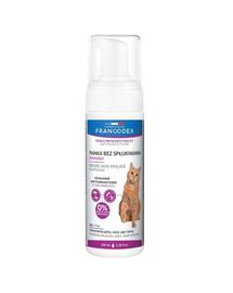FRANCODEX Spumă fără clătire pentru pisici (dimeticonă) 150 ml