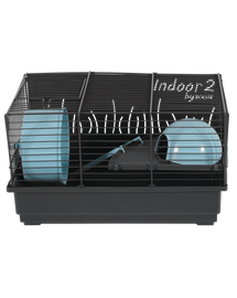 ZOLUX Cușcă pentru hamster INDOOR2 40 albastru deschis