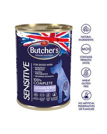 BUTCHER'S Functional Dog Sensitive cu miel și orez 390 gr