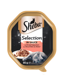 SHEBA Selection vită în sos 22 x 85 gr