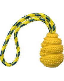 TRIXIE Jucărie din cauciuc natural Sporting Jumper 9 cm/30 cm