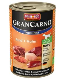 ANIMONDA Grancarno Adult carne de vită și pui 800 gr