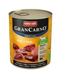 ANIMONDA Grancarno curcan 800 g