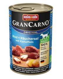 ANIMONDA Grancarno Adult vită, angușă afumată și cartofi 400 gr
