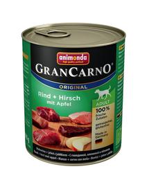 ANIMONDA Grancarno cu căprioară și măr 800 g