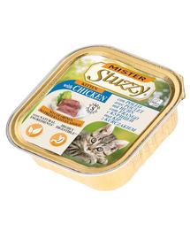 STUZZY Mister Cat hrană umedă pentru pisoi, cu pui 100 g