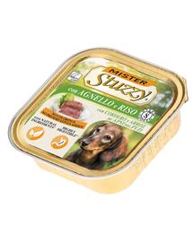 STUZZY Mister Dog hrană umedă pentru câini, cu miel și orez 150 g