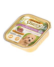 STUZZY Mister Dog hrană umedă pentru câini, cu șuncă 150 g