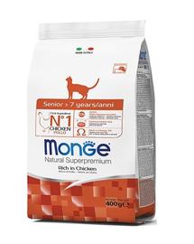 MONGE Cat Senior hrană pentru pisici vârstnice 400 g