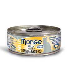 MONGE Jelly hrană umedă pentru pisici, cu ton din Pacific 80 g