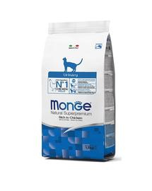 MONGE Cat Urinary hrană uscată pentru pisici cu probleme ale sistemului urinar 400g