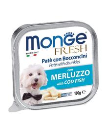 MONGE Fresh hrană umedă pentru câini sub formă de pate, cod 100 g