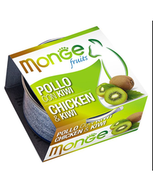 MONGE Fruit hrană umedă pentru pisici, cu pui și kiwi 80 g