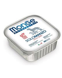 MONGE Dog Monoprotein hrană umedă pentru câini, cu vită 150 g