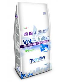 MONGE Vet Solution Dog Gastrointestinal hrană uscată dietetică pentru câini cu probleme gastrointestinale 2 kg