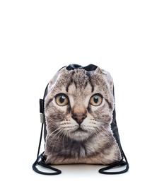 FERA Rucsac cu imprimeu pisică