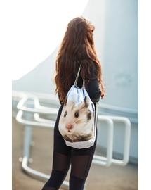 FERA Rucsac cu imprimeu, Hamster