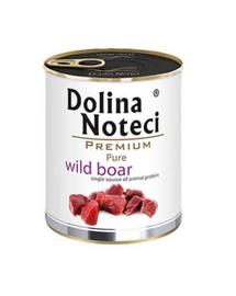 DOLINA NOTECI Premium Pure hrană umedă pentru câini, cu porc mistreț 800g