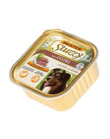 STUZZY Mister Dog hrană umedă pentru câini, cu rață 150 g
