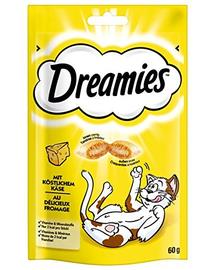 DREAMIES cu brânză 60 g x6