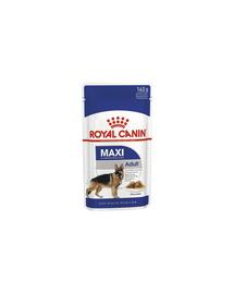 Royal Canin Maxi Adult Hrană Umedă Câine 10x140 g