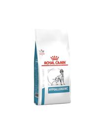 ROYAL CANIN Dog Hypoallergenic 28 kg (2 x 14 kg) hrană uscată pentru câinii adulți cu reacții adverse la alimente