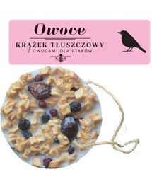 NATURAL-VIT Korona Natury, Hrana pasari, disc cu grăsime si fructe, 130 g